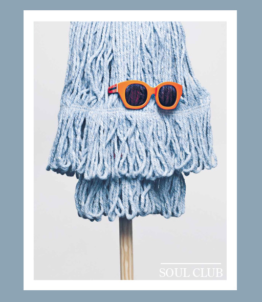 karen walker soul club sunglasses - Orange