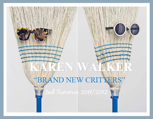 Karen Walker Sunglasses Critters 2nd Summer