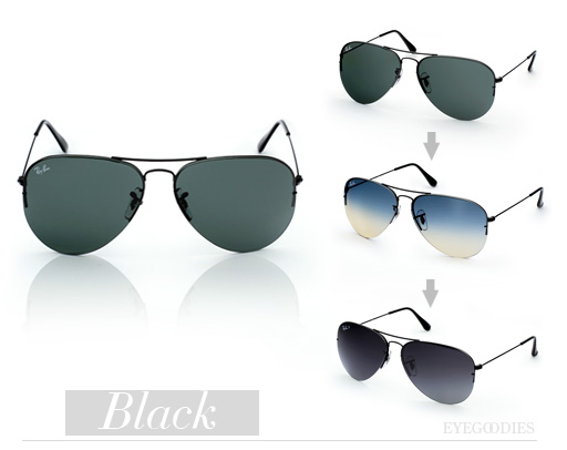 ray ban flip out aviators