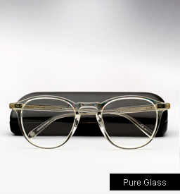 Garrett Leight Hampton Eyeglasses-Pure Glass
