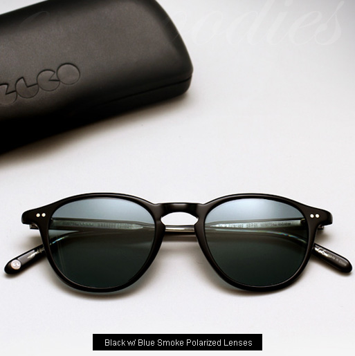 Garrett Leight Hampton sunglasses - Black