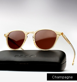 Garrett Leight Hampton sunglasses - Champagne