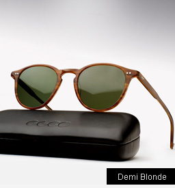 Garrett Leight Hampton sunglasses - Demi Blonde