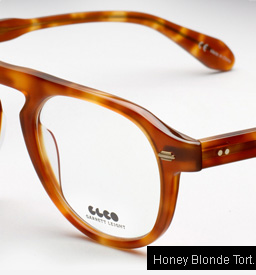 GLCO Harding Eyeglasses-Honey Blonde Tortoise