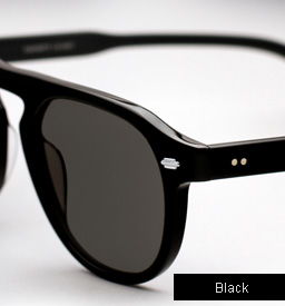 Garrett Leight Harding sunglasses - Black