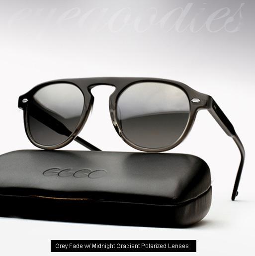 Garrett Leight Harding sunglasses - Grey Fade