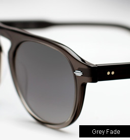 Garrett Leight Harding sunglasses - Grey Fade