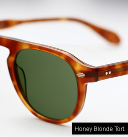 Garrett Leight Harding sunglasses - Honey Blonde Tortoise