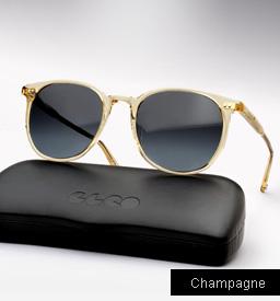 Garrett Leight Rialto Sunglasses-Champagne