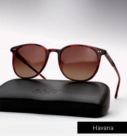 Garrett Leight Rialto Sunglasses-Havana