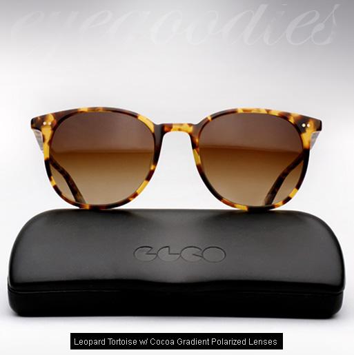 Garrett Leight Rialto Sunglasses-Leopard Tortoise