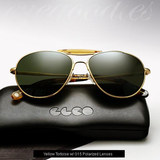 GLCO Speedway 18K sunglasses