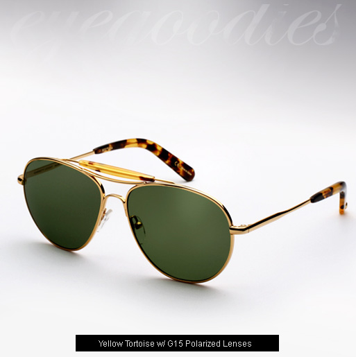 Garrett Leight Speedway 18K sunglasses