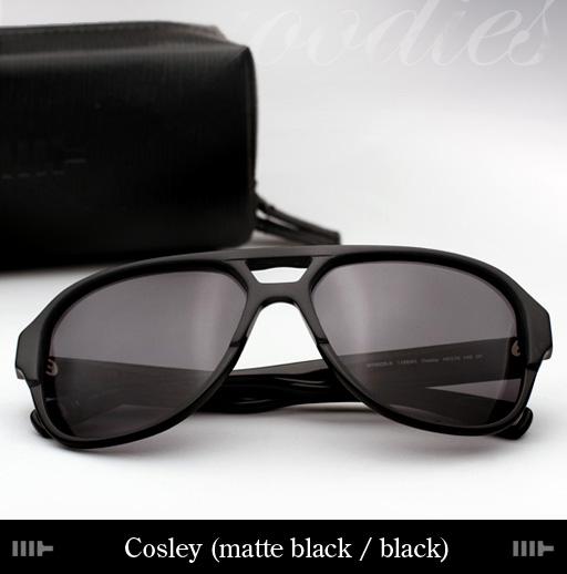 Mosley Tribes Cosley Sunglasses - Matte Black/Black