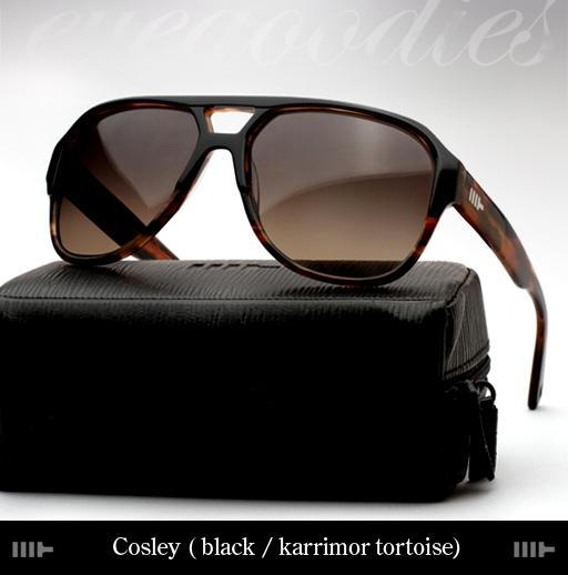 Mosley Tribes Cosley Sunglasses - Black/Karrimor Tortoise