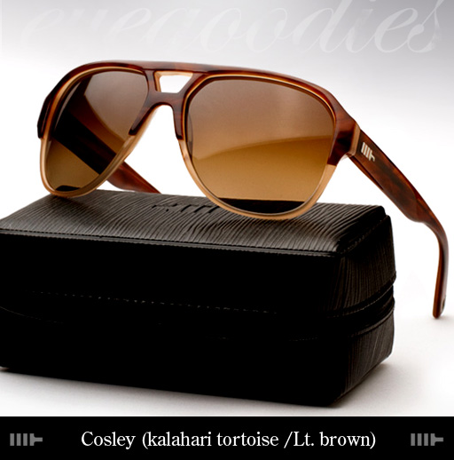 Mosley Tribes Cosley Sunglasses - kalahari Tortoise/ Light Brown