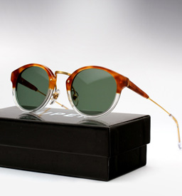 Super Panama Sunglasses - Light Havana and Crystal