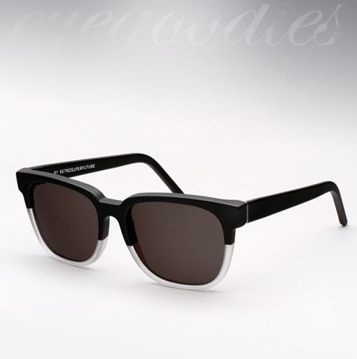 Super People Sunglasses - Matte Black and Crystal