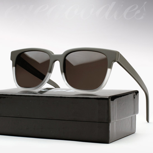 Super People Sunglasses - Matte Grey and Crystal