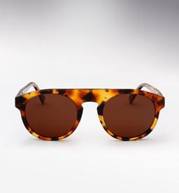 Super Racer Sunglasses - Dark Havana