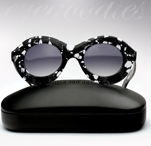 Cutler and Gross X Erdem Sunglasses - Black Lace