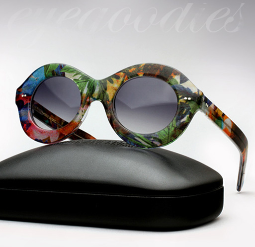Cutler and Gross X Erdem Sunglasses - Ystad Flower
