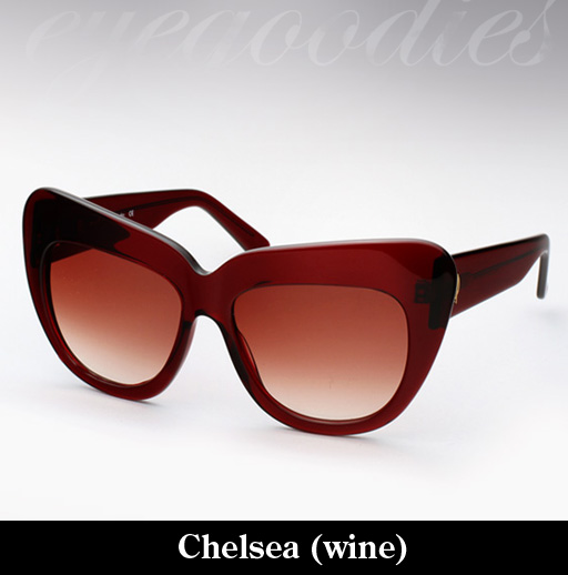 House of Harlow Chelsea sunglasses - Wine