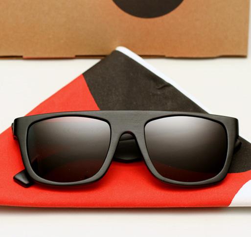 Waiting For The Sun Data Redux Sunglasses - Black