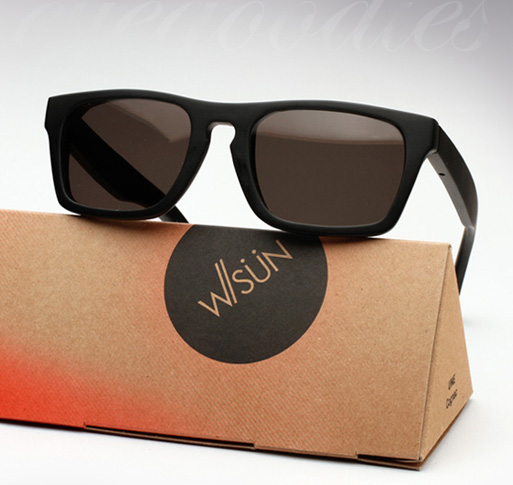 Waiting For The Sun Solid Sunglasses - Black