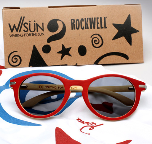 Waiting For The Sun X Rockwell sunglasses