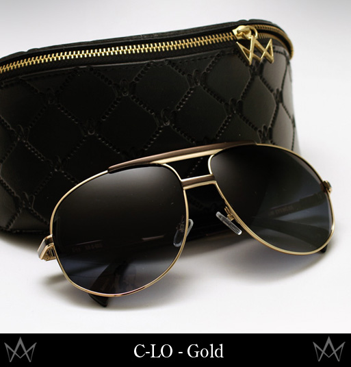AM Eyewear C-LO sunglasses - Gold