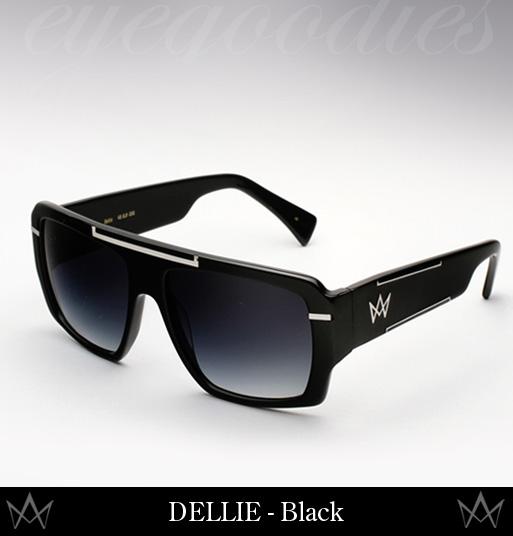 AM Eyewear Dellie Sunglasses - Black