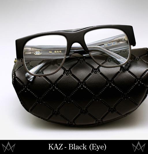 AM Eyewear Kaz eyeglasses-black