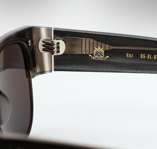 AM Eyewear Kaz Sunglasses - Black