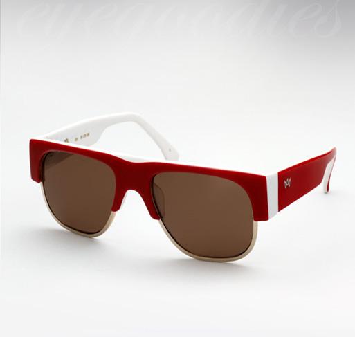 AM Eyewear Kaz sunglasses - Red/White Limited Edition