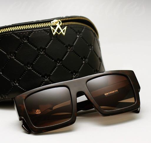 AM Eyewear Mesh Sunglasses - African Brown