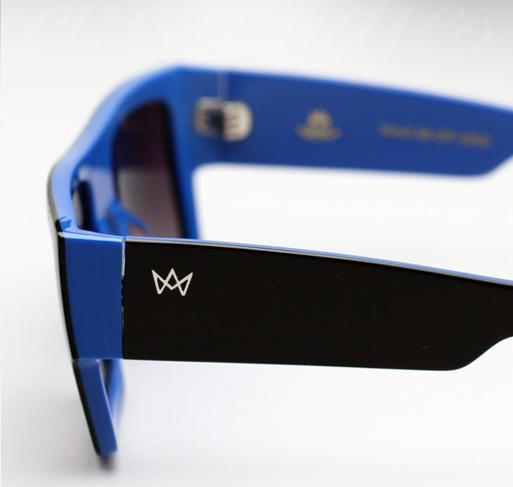 AM Eyewear Mesh Sunglasses - Black/Blue Limited Edition
