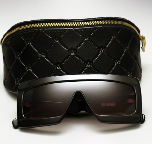 AM Eywear Samantha sunglasses - Black