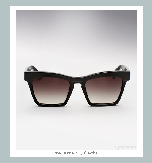 Ellery Cremaster Sunglasses - Black