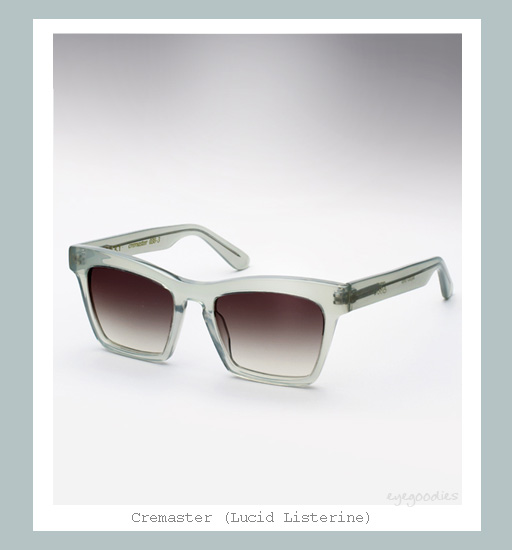Ellery Cremaster Sunglasses - Lucid Listerine