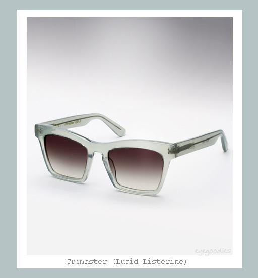 Ellery Cremaster Sunglasses - Lucid Listerine