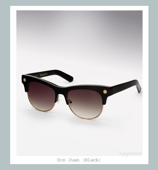 Ellery Don Juan Sunglasses - Black