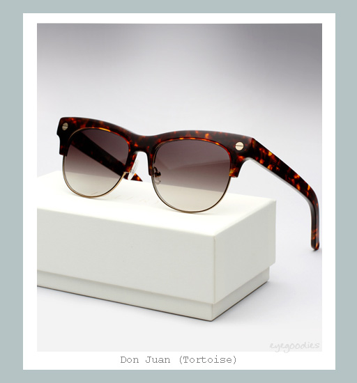 Ellery Don Juan Sunglasses - Tortoise