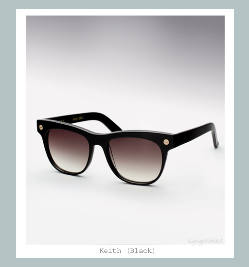 Ellery Keith Sunglasses - Black