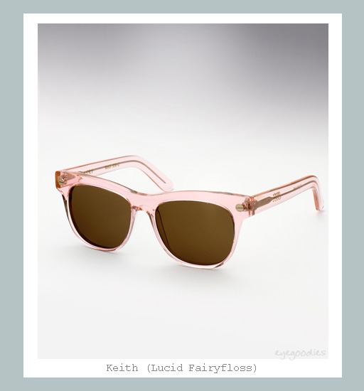 Ellery Keith sunglasses - Lucid Fairyfloss