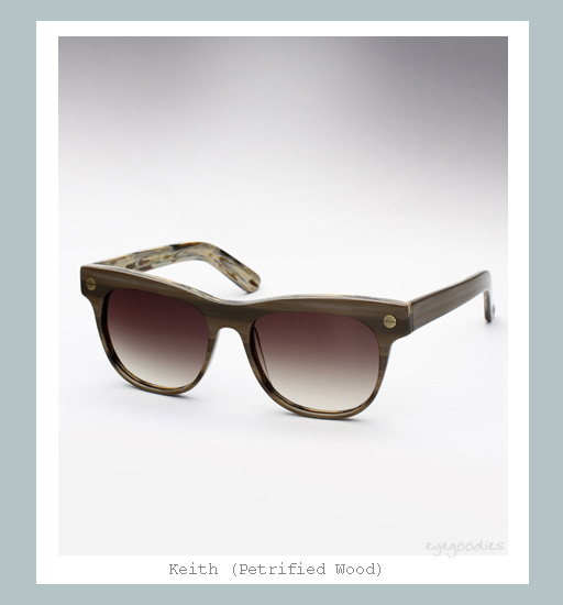 Ellery Keith Sunglasses - Petrified Wood