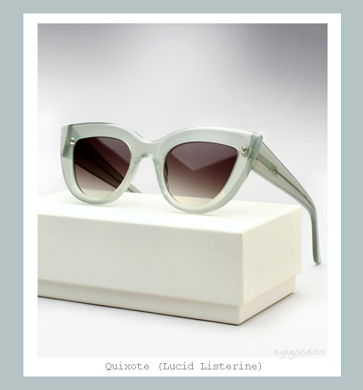 Ellery Quixote Cat eye Sunglasses - Lucid Literine