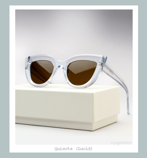 Ellery Quixote Cat eye Sunglasses - Lucid