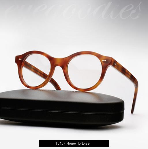 Cutler and Gross 1040 eyeglasses - Honey Tortoise