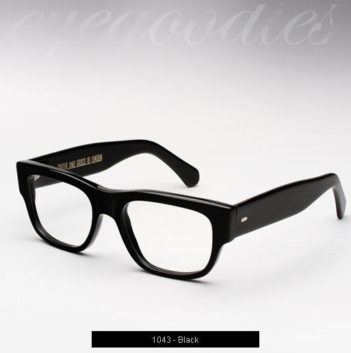 Cutler and Gross 1043 eyeglasses - Black